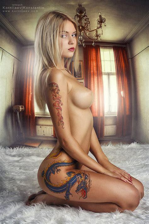 Hot Russian Emo Babe Bluemaize