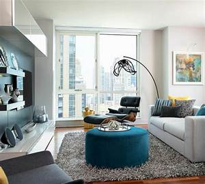 Kleines L Sofa : sofa wei 35 wohnzimmereinrichtungen mit einem wei en akzent ~ Michelbontemps.com Haus und Dekorationen