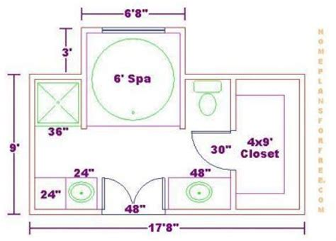 bathroom designs and floor plans bath floor plan with 9x17 dimensions free 9x17 master bath
