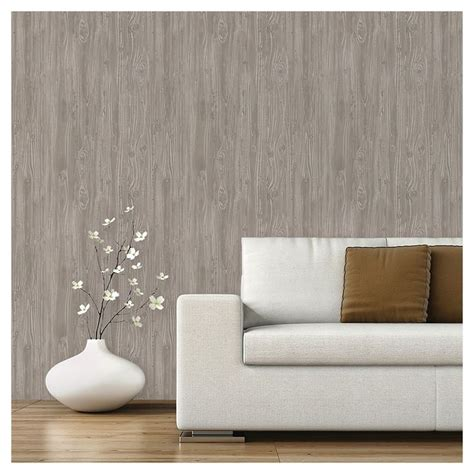 stick and peel wallpaper color textured driftwood peel stick wallpaper mirage sticks wallpapers and grey