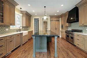 Small Kitchen Design Ideas With Wood Cabinet - Modern home