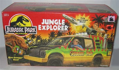 jurassic park car toy super toy archive collectible store kenner jurassic park