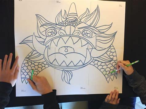 nian monster coloring  nian monster coloring