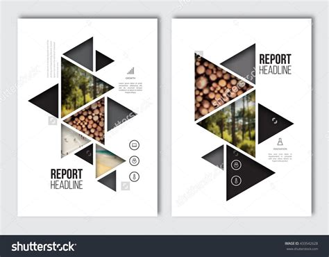 Business Brochure Design Template Vector Flyer Layout