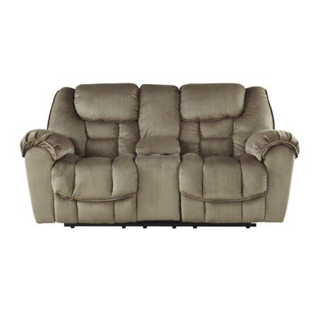 Glider Reclining Loveseat With Console by Jodoca Glider Reclining Loveseat With Console In