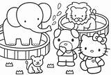 Zoo Coloring Pages Colouring Printable Hello Dessin sketch template