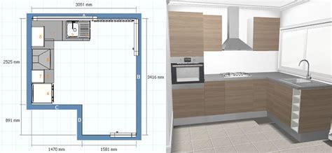 plan type de cuisine etude et fabrication d 39 une cuisine de type ikea
