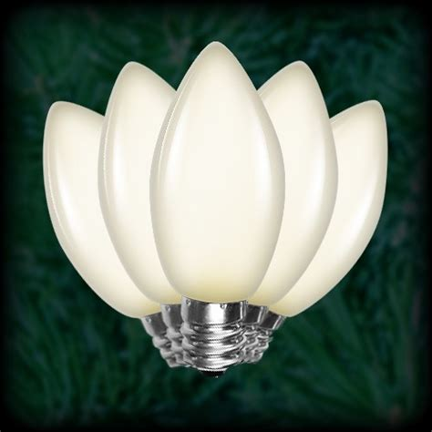 led warm white c9 bulbs smooth replacement