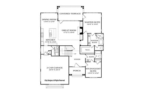 Craftsman Style House Plan 4 Beds 3 Baths 2519 Sq/Ft