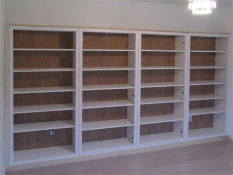 Ikea Hack Hemnes Bookcase by Hemnes Bookshelves Built In Hack Ikea Hackers