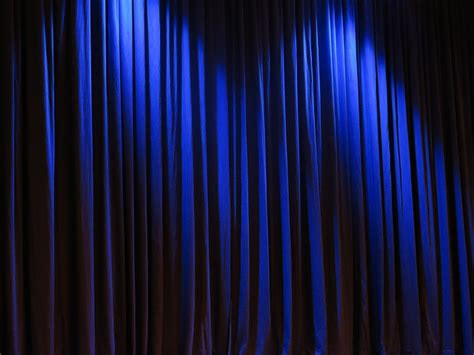 Blue Curtains by Free Photo Curtain Theater Velvet Free Image On
