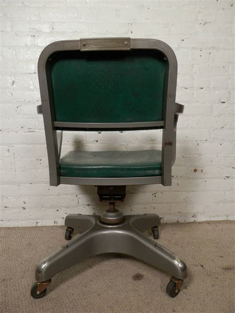 mid century heavy duty desk chair by metal for sale at