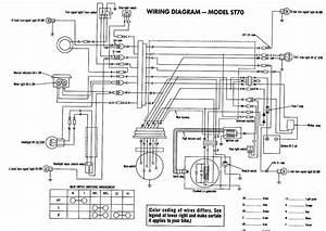 Honda st70 electrical wiring diagram circuit wiring diagrams for Scooter wiring diagrams also power wheels wiring schematic diagram