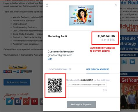 Add information to generate qr code. How Authors, Consultants, and Information Marketers Can Add Bitcoin as a Payment Option : Gina ...