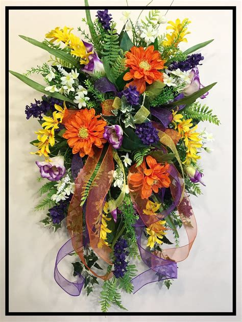swag ls for sale designer silk floral wall swags front door wreaths
