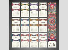 Calendario 2017 mes a mes – Almanaques para descargar o