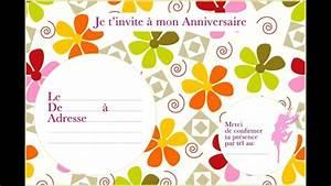 Carte Anniversaire Fille 9 Ans : carte invitation anniversaire gratuite imprimer garcon 9 ans corbas manutention ~ Melissatoandfro.com Idées de Décoration