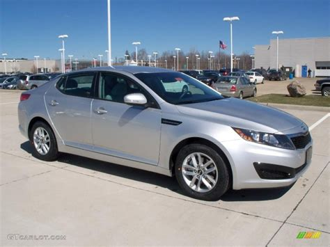 bright silver  kia optima lx exterior photo  gtcarlotcom