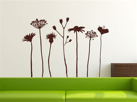 Individuelles Ambiente Dank Wand by Wandtattoo Wiesenblumen Wandtattoo