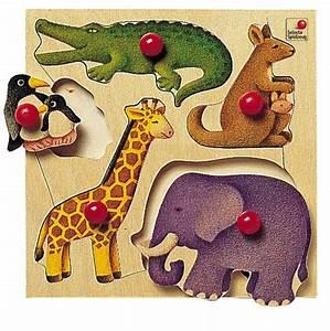 Puzzle En Bois Bébé : puzzle bois zoo ds 18 mois ~ Dode.kayakingforconservation.com Idées de Décoration