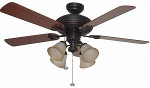 Hunter ceiling fan fans anslee in dimmable cfl