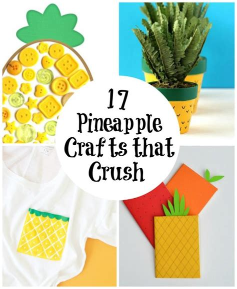 17 pineapple crafts that crush make and takes 590 | PicMonkey Image 2 600x734