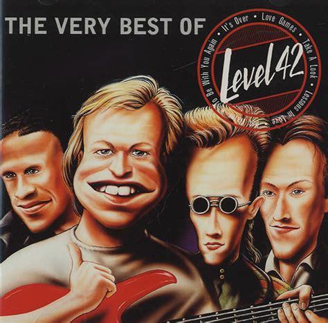 Level 42 The Very Best Of German CD album (CDLP) (439320)