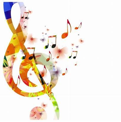 Notes Colour Transparent Background Note Clipart Musical