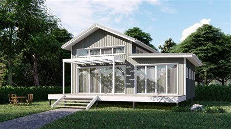 One Bedroom Kit House by Architecturally Designed Kit Homes Imagine Kit Homes