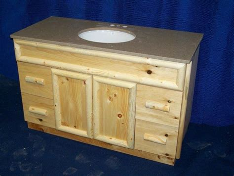knotty pine bathroom vanity cabinets knotty pine bathroom vanity bloggerluv com
