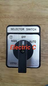 Jual Selector Switch    Cam Switches Moa    Manual Off Auto