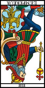 lempereur du tarot interpretation de la carte  dans le