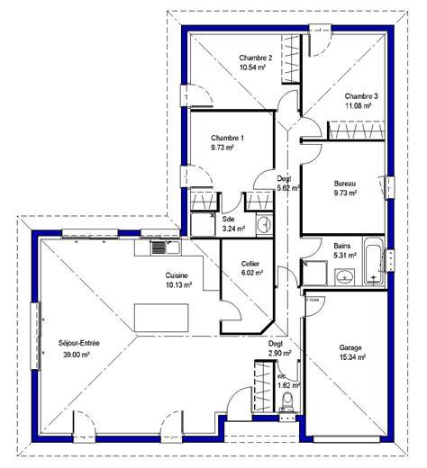 bureau de maison lysa contemporaine maisons lara