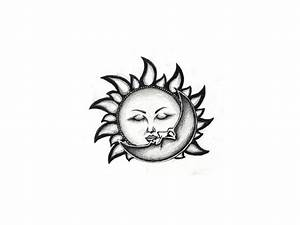 Top Sun Moon Glowing Images for Pinterest Tattoos