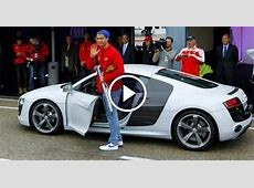 Ronaldo Driving His Lamborghini Aventador The Superstar