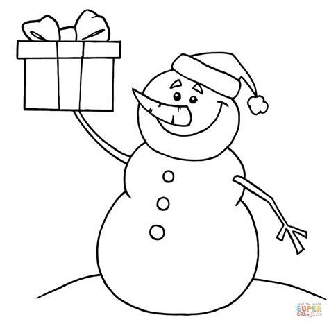 Kleurplaat Hoed Sneeuwman by Kerstman Kleurplaat Peuters Krijg Duizenden Kleurenfoto