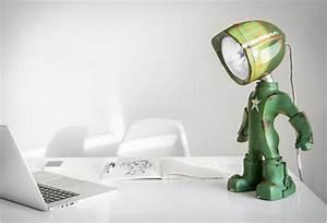 Lampe Bureau Design : lampe de bureau design et personnalisable voil lampster ~ Teatrodelosmanantiales.com Idées de Décoration