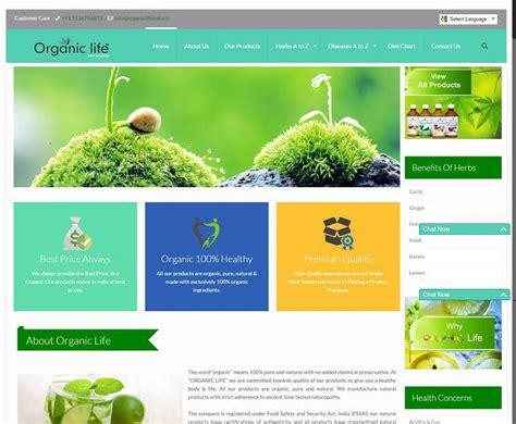 ecommerce website design company organic product ecommerce website design company udaipur