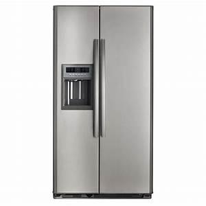 Réfrigérateur De Couleur : peindre un frigo couleur inox maison design ~ Premium-room.com Idées de Décoration
