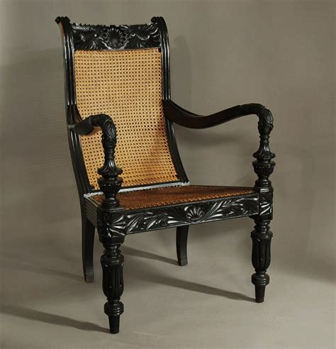 mid century rocking a carved solid chair from the galle district