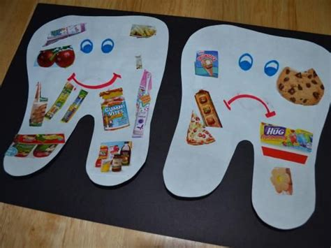 crafts actvities and worksheets for preschool toddler and 958 | dental craft idea for kids