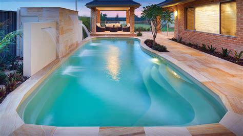 Pool : Stunning Fibreglass Swimming Pools