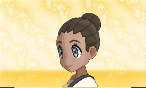 Pokemon Sun & Moon Female Hair