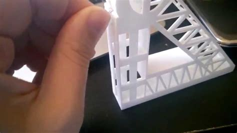 3d printed desk toys 3d printed ball trapped in slide desk toy youtube