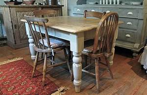 pine farmhouse kitchen table by distressed but not