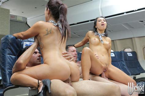 Stewardess Sex Professional Sluts Flight