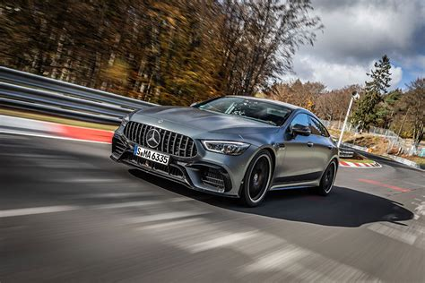 It's a 4 door coupé based on the cls, and mercedes says it is also the 4 door version of the amg gt line (so this is what you get from mixing the cls and the amg. Mercedes-AMG GT 63 S is the Fastest Luxury Vehicle on the Nürburgring Nordschleife