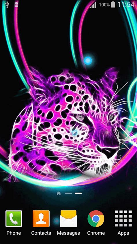 Neon Animal Wallpaper - neon animals wallpaper android apps on play
