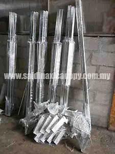 Spesifikasi Kanopi Khemah Canopy Specification