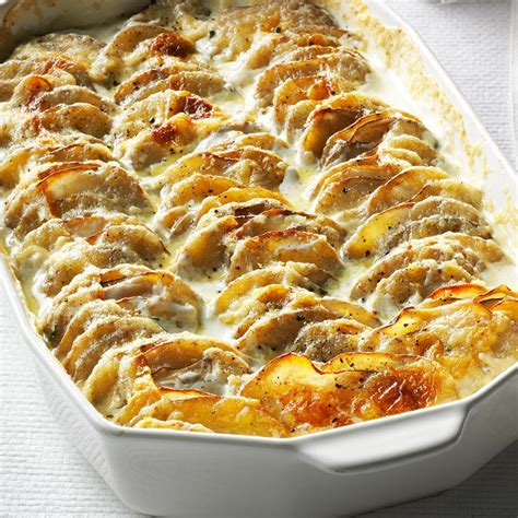 easy potatoe recipe super simple scalloped potatoes recipe taste of home